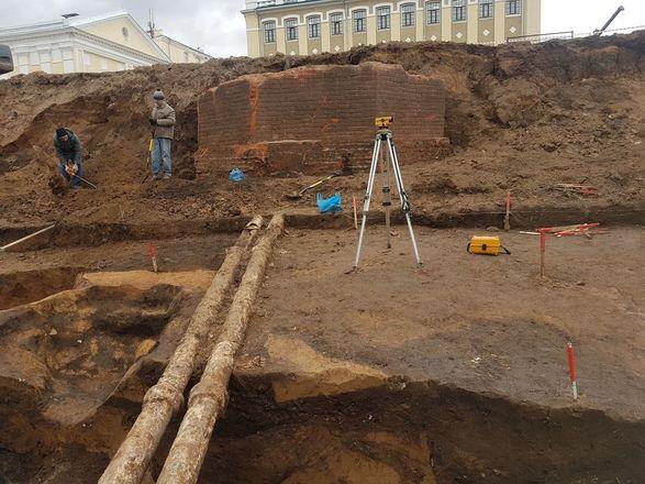 Фрагменты первого российского фуникулера обнаружили археологи в Нижнем Новгороде - фото 3