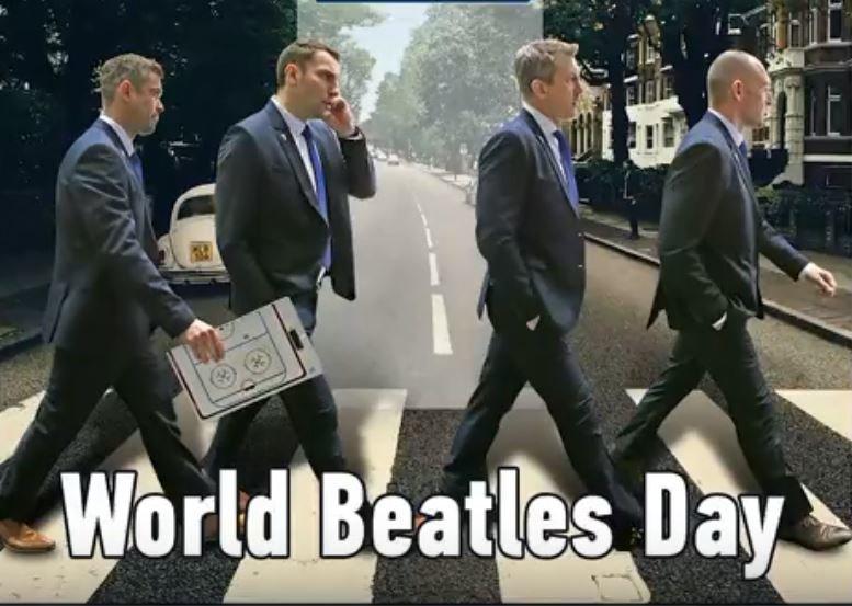 Хоккеисты «Торпедо» заговорили фразами из песен The Beatles