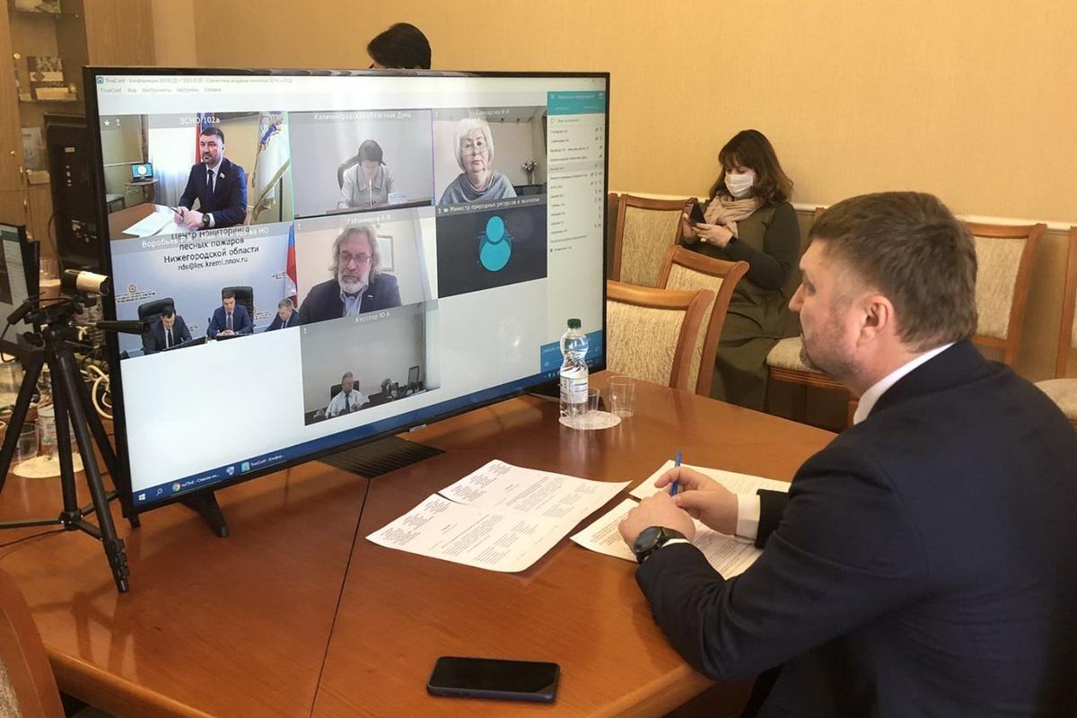 Нижегородские и калининградские депутаты обсудили региональное законодательство об охоте и сохранении охотничьих ресурсов - фото 1