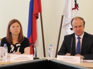 Елизавета Солонченко приняла участие в заседании Общественного совета при УМВД России