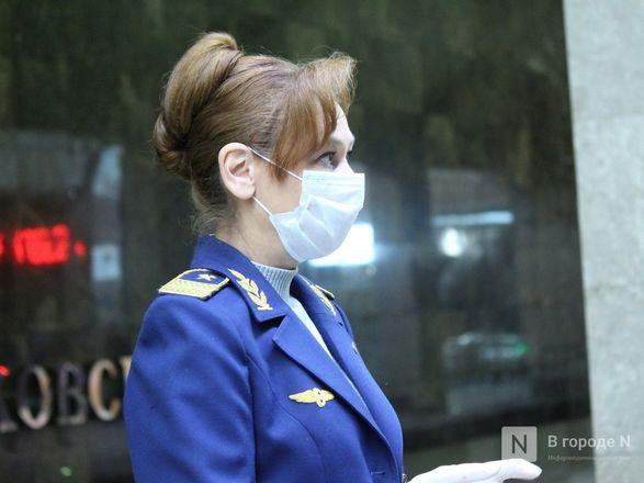 200 пассажиров нижегородского метро получили бесплатные маски - фото 12