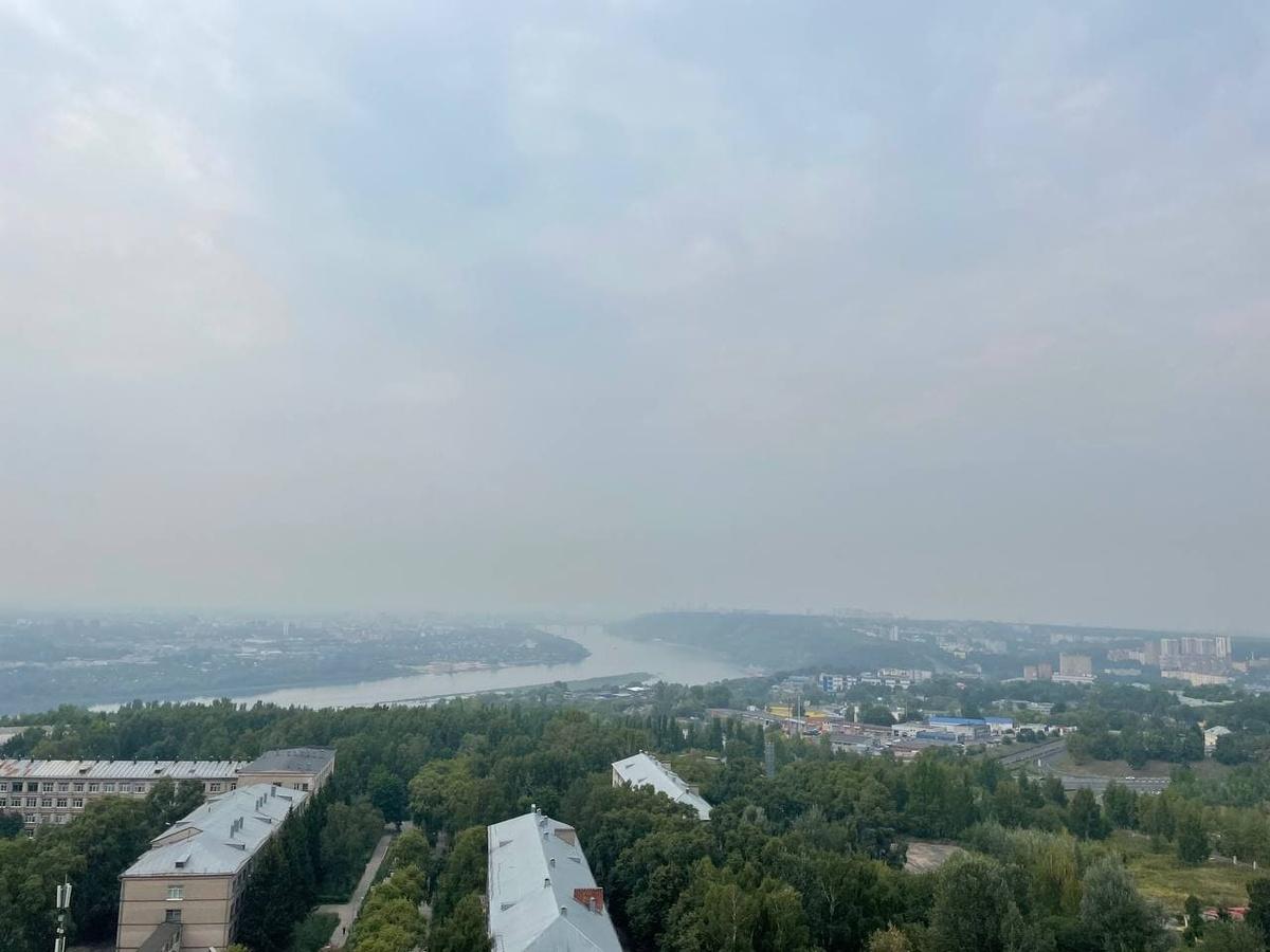 Смог накрыл Нижний Новгород в день 800-летия  - фото 1