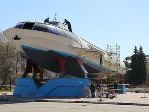 Памятник «Метеор» в Сормовском парке отреставрируют