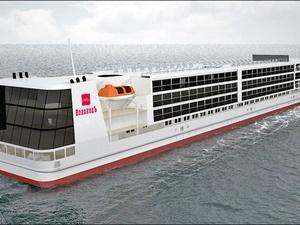 Круизный лайнер «Мустай Карим» на «Красном Сормове» построен на 60%