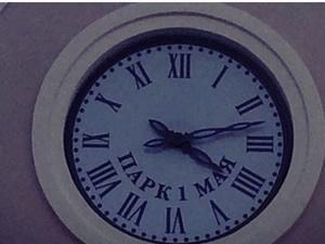 «Нестандартная» четверка на часах в парке 1 Мая озадачила нижегородцев