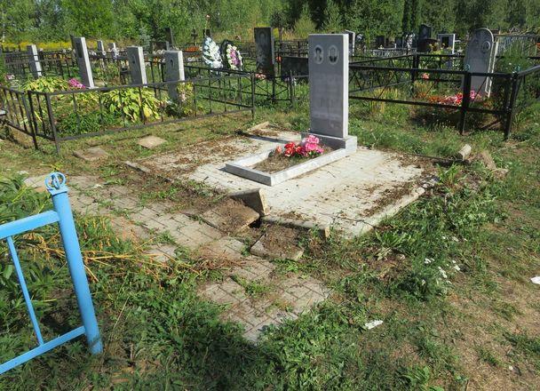 Жители Кстова похищали ограды с кладбищ - фото 6