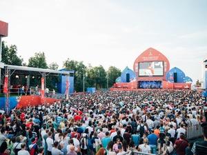 Парад флагов, салют и зажигательный Агутин: как нижегородцы проводили ЧМ-2018