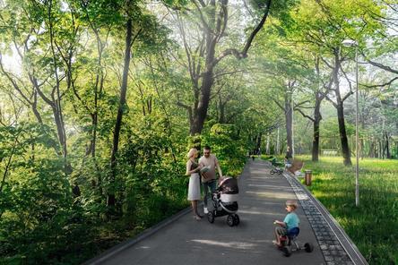 Свыше 18 км новых дорожек построят в нижегородской «Швейцарии»