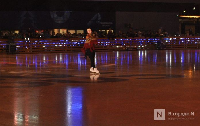 Ирина Слуцкая с ледовым шоу открыла площадку «Спорт Порт» в Нижнем: показываем, как это было - фото 31