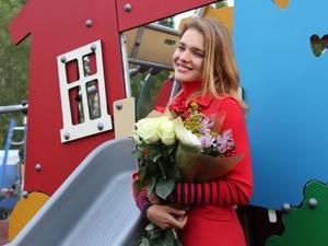 Наталья Водянова открыла инклюзивный игровой парк в Нижнем Новгороде (ФОТО)