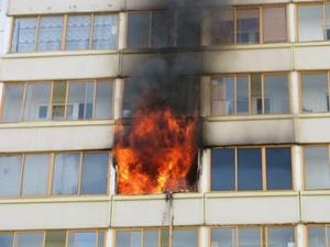 Житель Кстова получил серьезные ожоги во время пожара