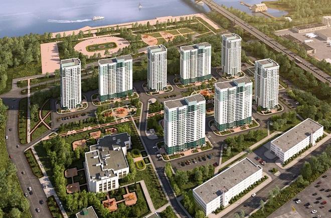 Суд вынес решение оприостановлении возведения дома вЖК «Аквамарин»