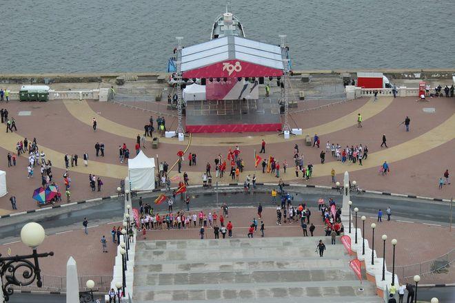 Нижегородец Николай Бурда в 16-й раз выиграл забег по Чкаловской лестнице - фото 8