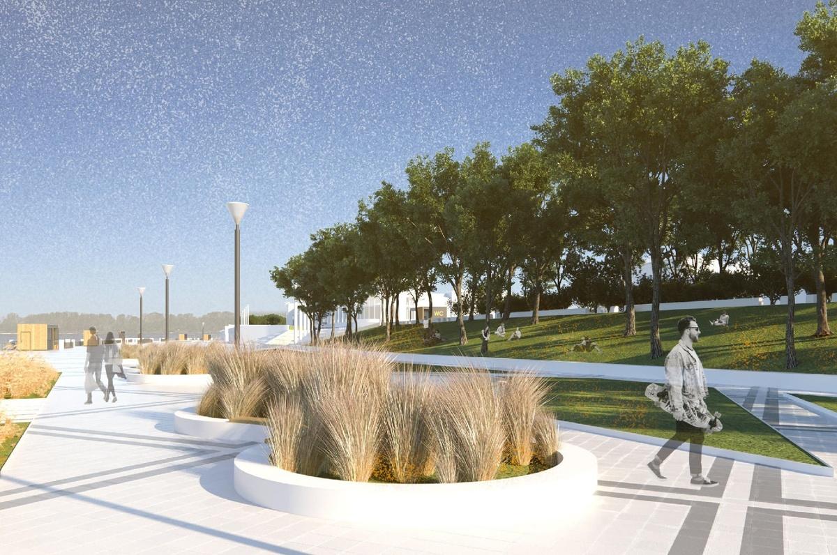 Арт-объект «Столица закатов» и сцена на воде: как преобразится Нижне-Волжская набережная - фото 4