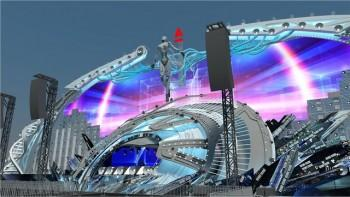 На Alfa Future People прекрасная девушка-робот появится из летающей тарелки (ВИДЕО)