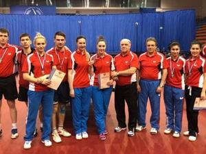 Нижегородцы взяли серебро чемпионата России по настольному теннису