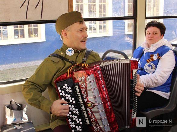 «Трамвай Победы» начал ходить по Нижнему Новгороду - фото 28