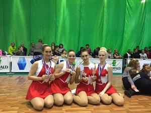 Наши спортсменки стали призерами во всех номинациях соревнований ПФО по чир спорту среди студентов