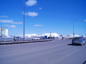 Завершено строительство дорог вокруг стадиона «Нижний Новгород»