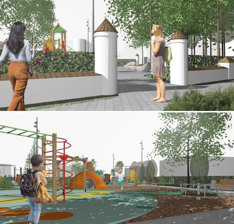 Стало известно, как будет выглядеть детская площадка в Дубенках - фото 6