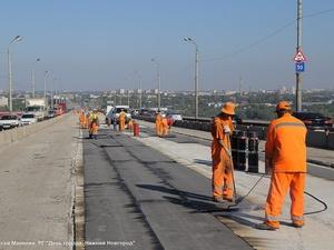 Ремонт Мызинского моста выполнен почти наполовину