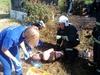 Сотрудники МЧС спасли из горящей бани жителя Семенова
