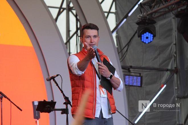 «Столица закатов» без солнца: как прошел первый день фестиваля музыки и фейерверков в Нижнем Новгороде - фото 16