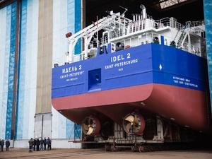 Второй сухогруз проекта RSD59 спустили на воду на «Красном Сормове»