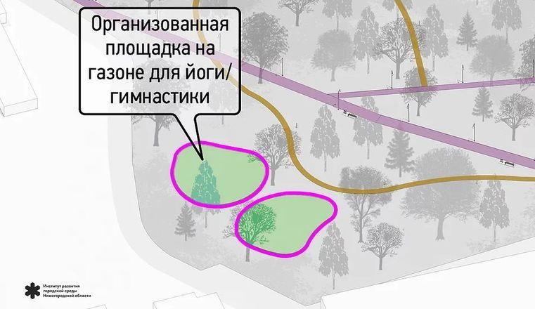 Световые инсталляции и площадка для йоги появятся в парке имени Пушкина - фото 6
