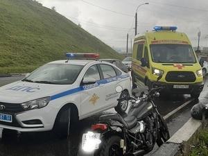 Нижегородский полицейский пострадал в ДТП во время оформления ДТП