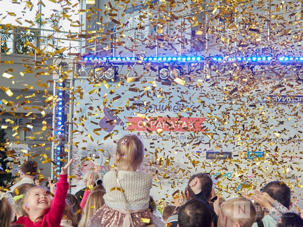 «Луидор» устроил новогоднее гулянье для сотен нижегородцев и их детей - фото 32