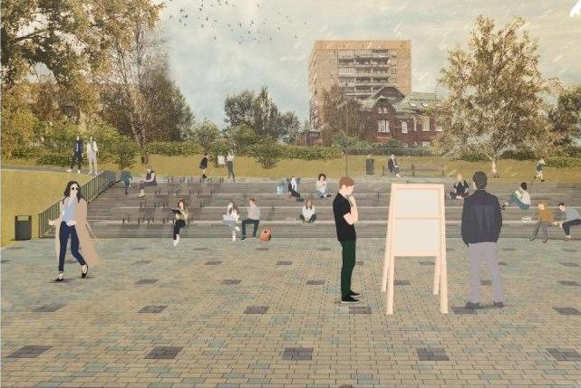 Плодовый сад и площадка для йоги: как изменится набережная Федоровского - фото 6