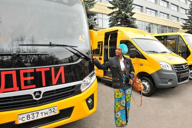 «Группа ГАЗ» поставит вГану ученические автобусы