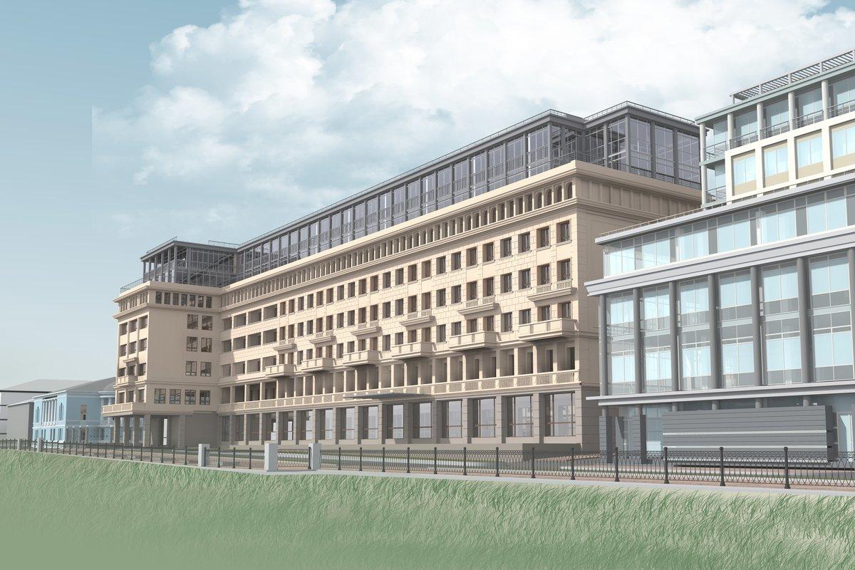 Дом за 1,5 млрд рублей построят на месте гостиницы «Россия»