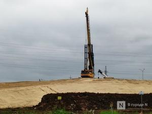 Возобновилось строительство транспортной развязки у деревни Ольгино