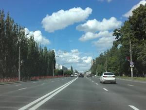Движение транспорта по проспекту Ленина ограничено до середины октября