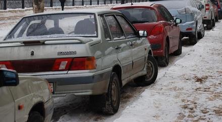 На улице Молитовской запретили парковку