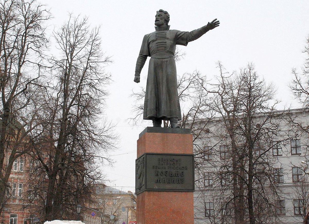 Памятник Минину отреставрируют за 4,1 млн рублей в Нижнем Новгороде - фото 1