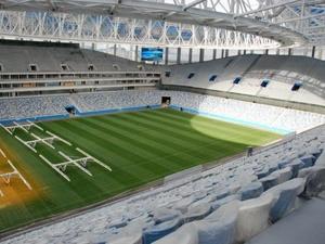 Макет стадиона «Нижний Новгород» представлен президенту РФ