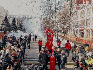 Часы обратного отсчета до ЧМ-2018 запущены в Нижнем Новгороде