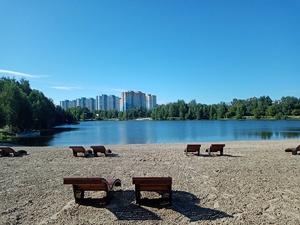 Сквер «Самбо» и парк у озера Земснаряд-2 открылись после благоустройства