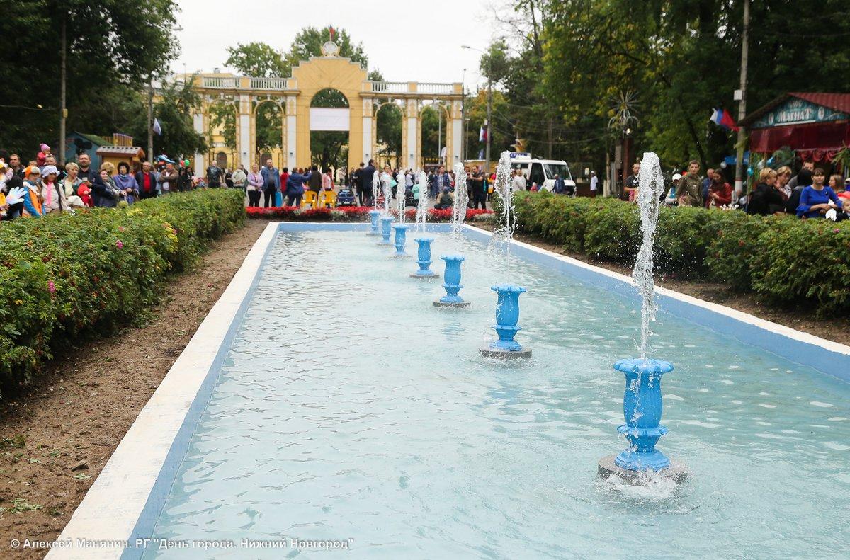 Большая аллея фонтанов откроется в Автозаводском парке после реконструкции - фото 1