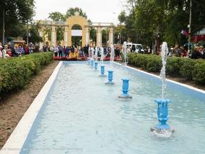 Большая аллея фонтанов откроется в Автозаводском парке после реконструкции