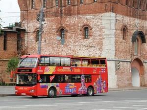 Двухэтажный автобус снова начал возить экскурсии по Нижнему Новгороду