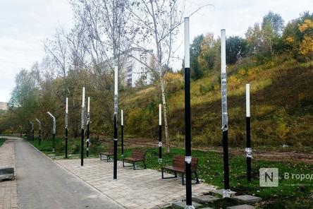 Благоустройство Лопатинского оврага в Нижнем Новгороде выполнено на 90%