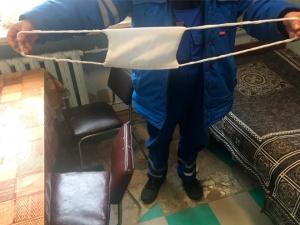 Водителям скорой помощи в Сарове выдали странные маски