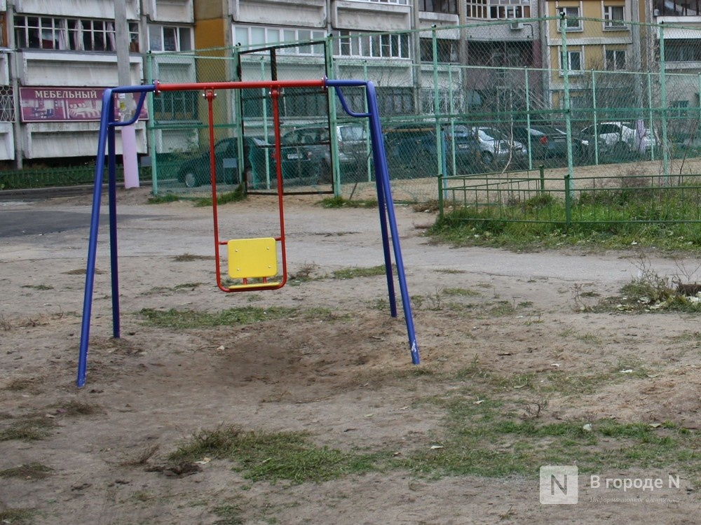 Ребенок чуть не остался без глаза на детской площадке в Павлове - фото 1