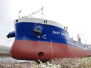Третий танкер-химовоз нового поколения спущен на воду в Нижнем Новгороде (ФОТО)