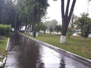 В Нижнем Новгороде выпал град (ФОТО)