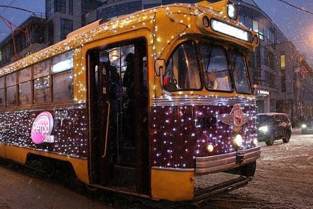 Новогодние трамваи начнут курсировать по Нижнему Новгороду с 14 декабря